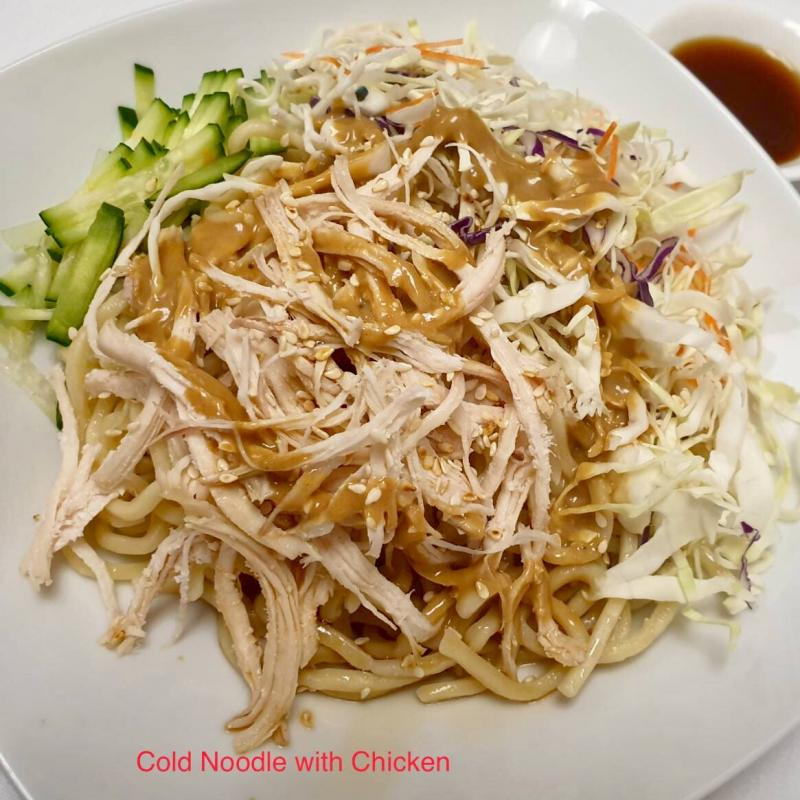Cold Noodle with Chicken